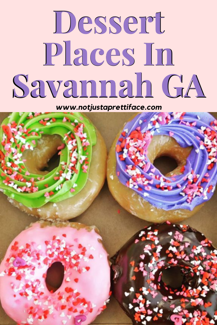 dessert places in savannah ga
