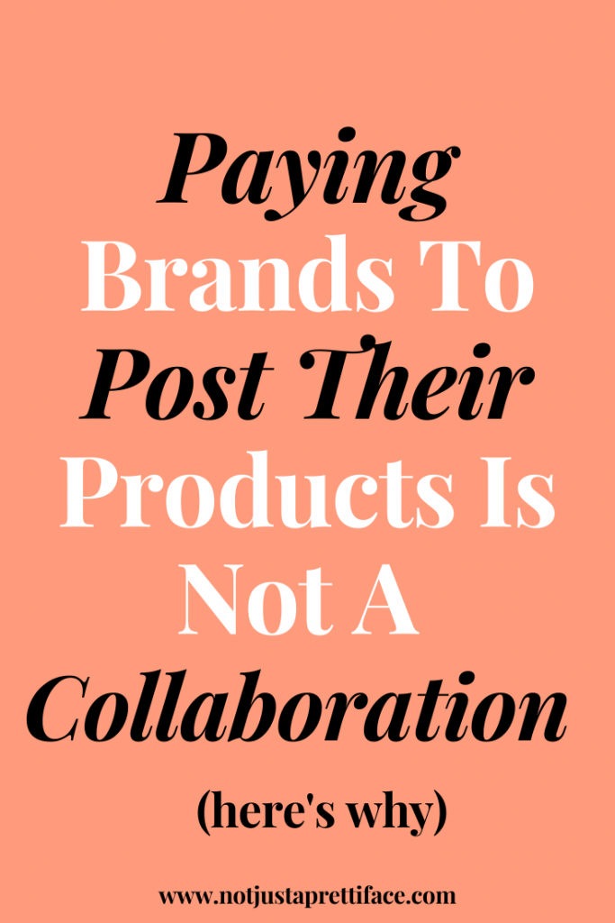working with brands on instagram