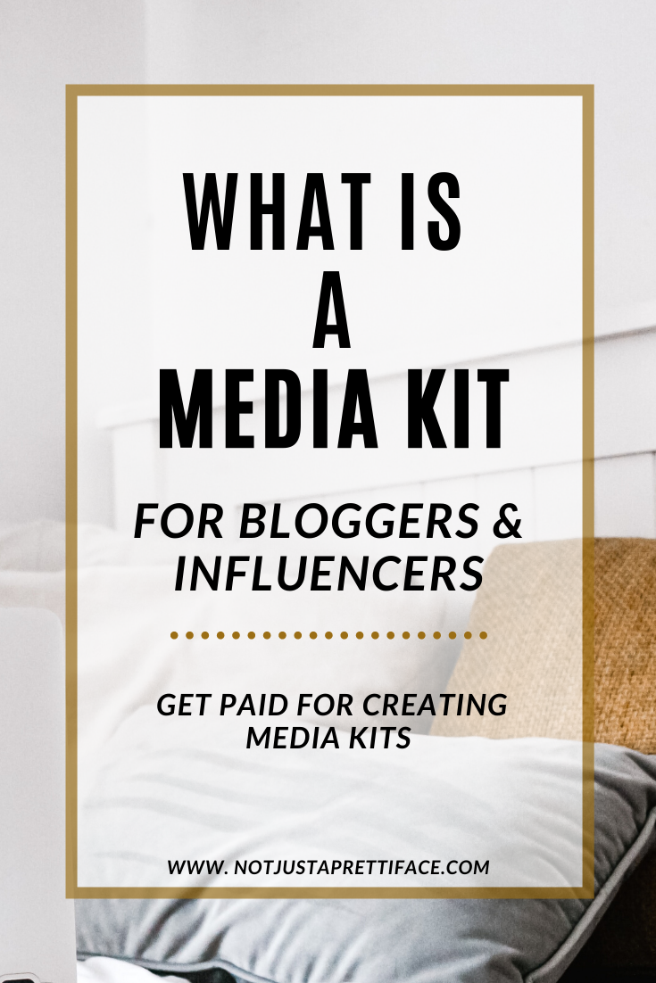 what it s media kit for bloggers