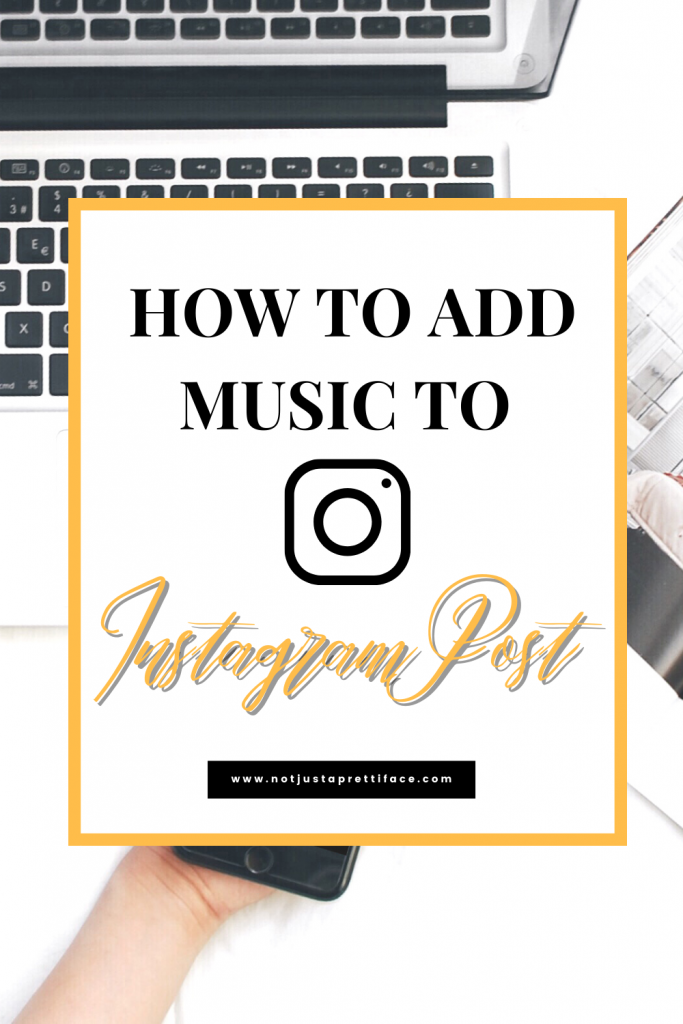 how to add music to instagram post